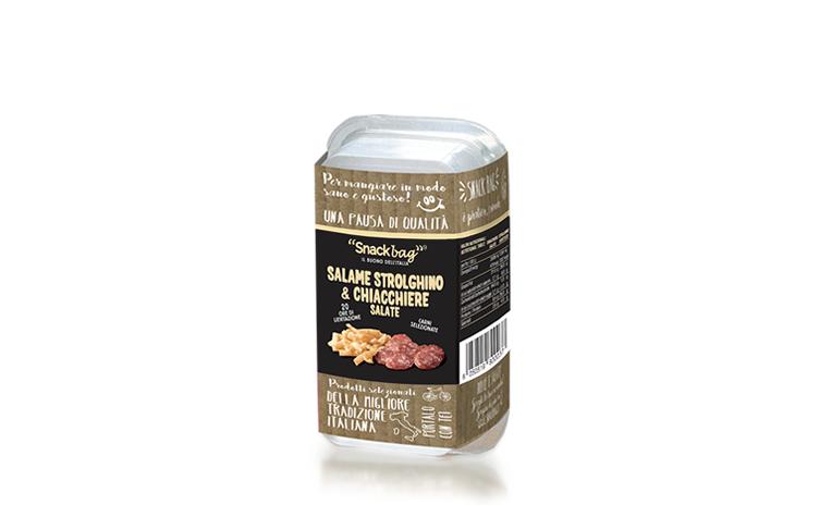 Salame Strolghino affettato e Chiacchiere Salate